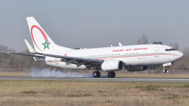 Une alarme de la porte de la soute à bagages cause l'atterrissage d'urgence d'un avion de Royal Air Maroc