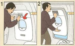 Agacé par les cris d'un enfant, un passager de Vietnam Airlines ouvre l'issue de secours