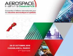 Casablanca accueille la 5ème édition d'Aerospace Meetings Casablanca les 29 et 30 octobre 2019