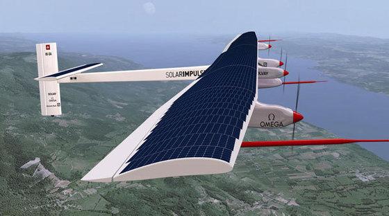Solar Impulse au Maroc pour le lancement de la plus grande centrale thermo-solaire jamais construite