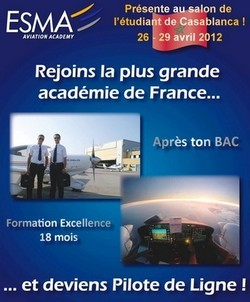 La plus grande académie d'aviation française au forum de l'étudiant de Casablanca
