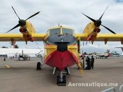 Marrakech Airshow 2012: Les Forces Royales Air exposent leur nouvel avion Canadair CL-415