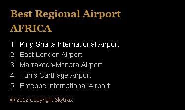 Marrakech-Menara classé 3ème meilleur aéroport régional en Afrique par Skytrax
