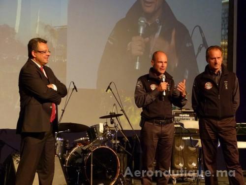 L'Office National Des Aéroports et MASEN fêtent Solar Impulse