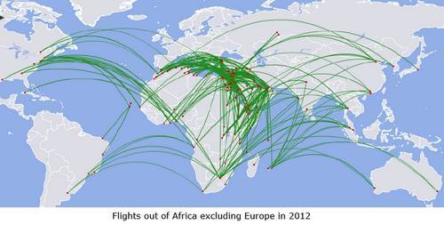 OAG: African airlines only have around 2% of revenues of the traffic between Africa and the rest of the world