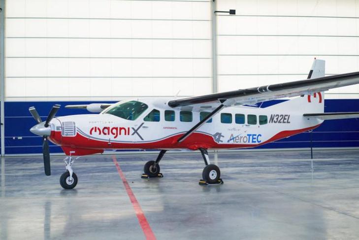 Un Cessna Carvan donne le coup d'envoi aux vols commerciaux à zéro émission de CO2