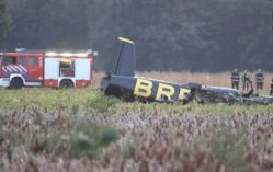 Crash d'un avion de la patrouille acrobatique Breitling