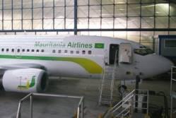 Un avion de Mauritania Airlines cloué sur le tarmac de l'aéroport MohammedV