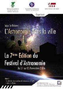 Le Festival d'Astronomie de Marrakech