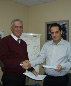 Dr Nejmeddine et Mr Serraji