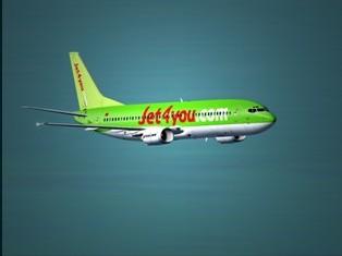 Un nouveau 737-400 pour Jet4you
