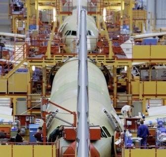 Airbus: Réduire de 80% les sous-traitants, une hypothèse, pas une décision