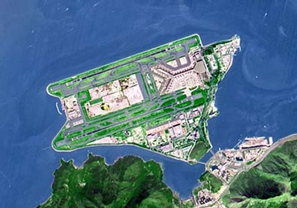 2ème: Aéroport International de Hong Kong