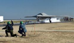 Le drone X-47B réussit son premier essai de catapultage