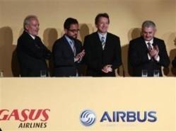 Commande record de 100 Airbus par la compagnie turque Pegasus