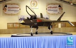 L'Iran dévoile Qaher 313, un avion de chasse de sa propre conception