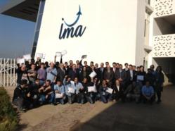 Bombardier félicite la première promotion d'ajusteurs-monteurs formés à l'IMA au Maroc