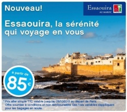 Transavia dessert en vol direct Paris - Essaouira