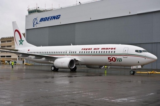 Le CN-RGN, 50ème B737 livré à Royal Air Maroc (Flicker)