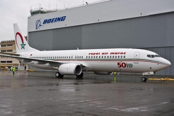 Boeing fête à Seattle le 50ème B737 livré à Royal Air Maroc