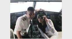 Deux pilotes suspendus pour avoir autorisé un mannequin à poser dans le Cockpit en plein vol