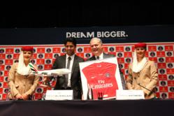 Emirates renouvelle son partenariat avec le Paris Saint-Germain jusqu'à la fin de la saison 2018-2019