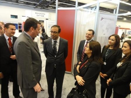 M. Amara inaugure le pavillon du Maroc à Aéromart Montréal