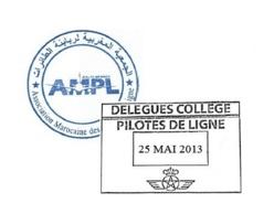 Royal Air Maroc: Préavis de grève des pilotes de ligne pour le 15 Juin