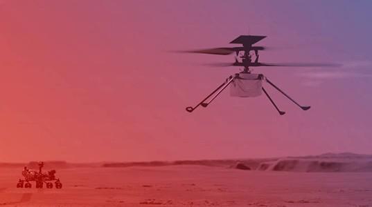 L'OACI célèbre l'exploit d'Ingenuity en codifiant un nouveau aéroport sur... Mars