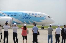China Southern reçoit son premier B787 Dreamliner