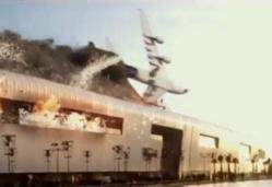 Crash d'un A380 sur Morocco Mall (Animation)