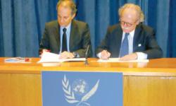 Royal Air Maroc met sa flotte et ses compétences humaines au service des causes nobles de l'ONU