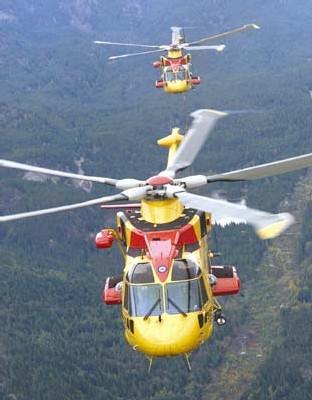 helicopteres canadiens de recherche et sauvetage