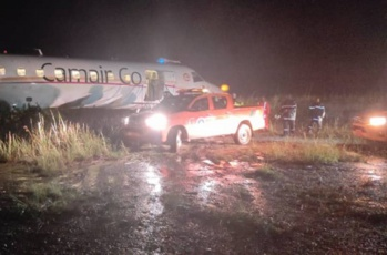Cameroun: Sortie de piste d'un Embraer ERJ-145 de Camair Co