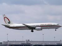 RAM: Réception d'un nouvel avion Boeing 737-800
