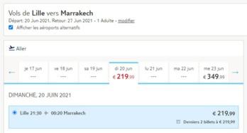 TUI fly reprendra ses vols vers plusieurs villes marocaines depuis Lille