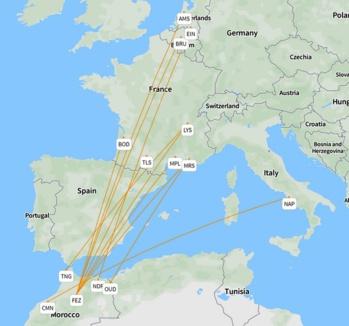 Royal Air Maroc va lancer 11 nouvelles lignes européennes vers la France, la Belgique et les Pays-Bas