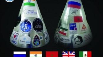 Nano-satellites fabriqués par des étudiants de l'ENSIAS et l'UPF