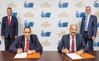 IAI signe pour un site de conversion d'avions passagers en cargo aux Emirats Arabes Unis