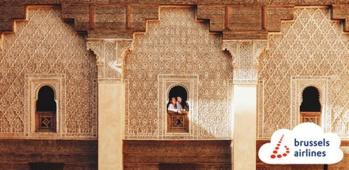 Marrakech fera pour la première fois partie de l'offre de Brussels Airlines