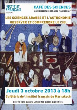 Le café des sciences à Marrakech: Une occasion pour observer et comprendre le ciel