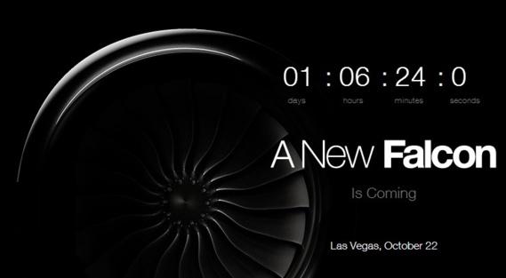 Dassault dévoilera son nouveau Falcon 5X à Las Vegas
