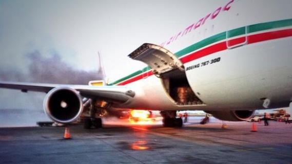 Incidents de Montréal: L'avion B767 de Royal Air Maroc est de retour au Maroc