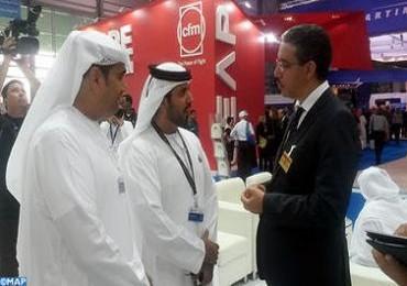 M. Rebbah présente les opportunités d'investissements offertes par le Maroc au salon aéronautique de Dubaï