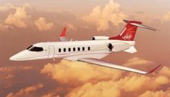 """Bombardier: Le Learjet 85 s'est """"comporté tel que prévu"""" lors de son premier vol"""