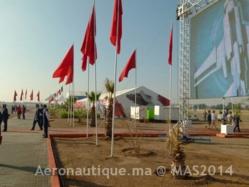 Marrakech Airshow 2014: Importante progression en termes de volume exposants, de visiteurs ou de nombre d'avions présentés