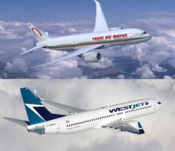 Royal Air Maroc signe un accord de partenariat avec West.Jet et étend son réseau en Amérique du Nord