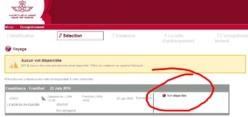 E-Booking non disponible...