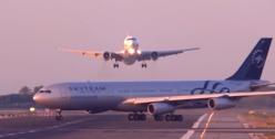 Remise des gaz in extremis à Barcelone pour éviter la collision entre un B767 et un A340 (Vidéo)