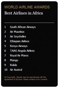 Skytrax 2014: Royal Air Maroc reçoit le prix de la meilleur compagnie régionale en Afrique